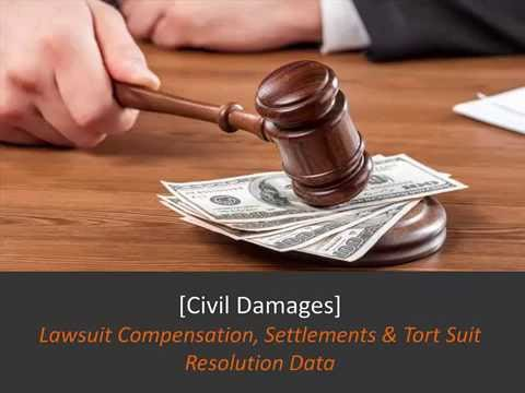 Civil Lawsuits:  The Truth About Compensation [Data Snapshot]