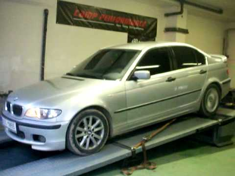 BMW 320d e46 136cv 250km/h 5 speed max top speed CHIP REMAP REPRO