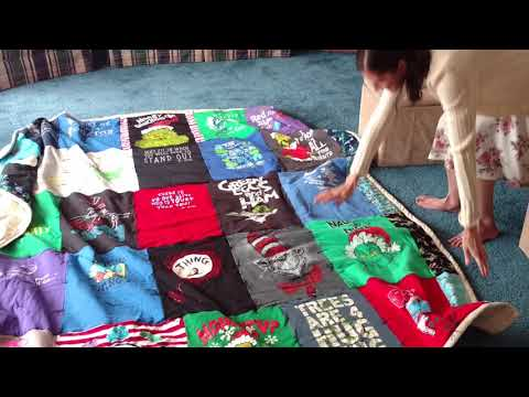 Reveal Dr. Seuss Finished Quilt To Princess Two - It's DONE Part - Five