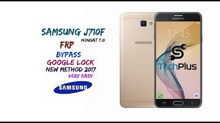 frp unlock samsung j710f android 7 google account reset 2017 - عبد