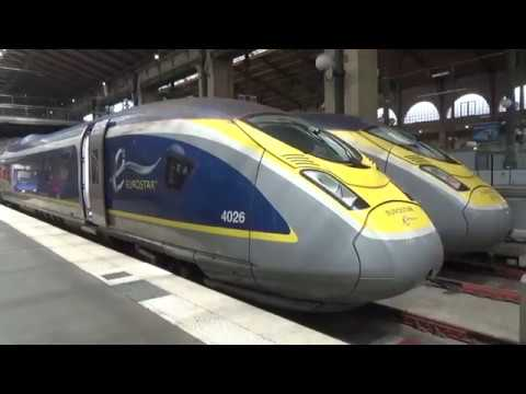 Eurostar Trip from London to Paris