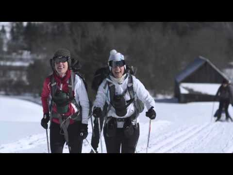 Tourism Promo xc skiing 30s EN Sequence