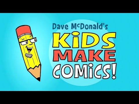 Kids Make Comics #3: Making Word Balloons