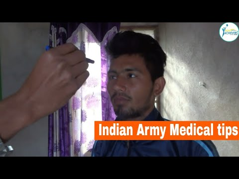 indian Army Medical fitness tips 100%