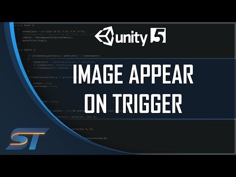 UI / Image Appear on Trigger in Unity 5