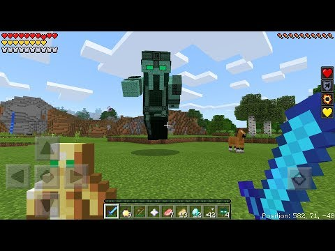 THE NEW ADMIN BOSS MOB FIGHT in Minecraft Pocket Edition! * RELEASED *