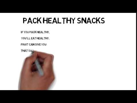 Pack Healthy Snacks