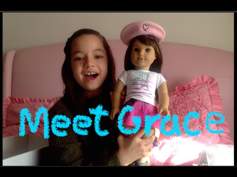AG Grace Thomas American Girl Doll of the Year 2015-UNBOXING