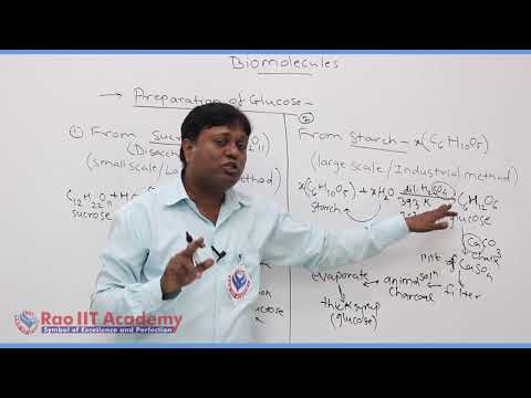 Biomolecules Chemistry Part-2 std 12th HSC Board Video Lecture BY Rao IIT Academy