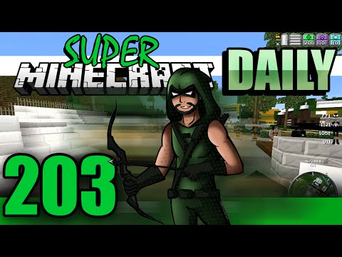 Super Minecraft Daily! - Spiders and bugs!? [#203]