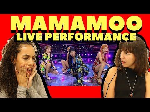 BRITISH PEOPLE REACT TO MAMAMOO - EGOTISTIC (LIVE PERFORMANCE)