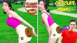 Girl DIY! 23 BEST FUNNY PRANKS ON FRIENDS   Funny DIY Pranks Compilation   Funny Tricks & Prank Wars