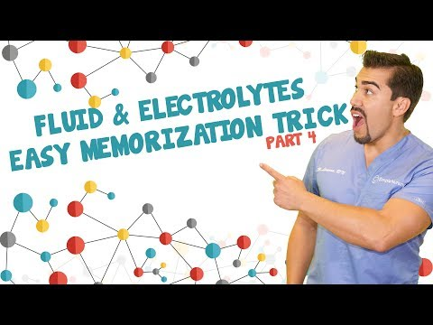 Fluid and Electrolytes easy memorization trick. Part 4