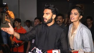 Angry Ranveer Deepika Insult Reporter For Asking About Their Marriage