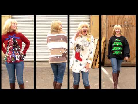 4 Ways to Make An Ugly Holiday Sweater