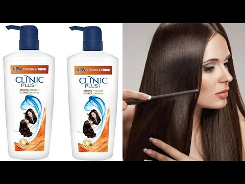 Clinic plus almond oil shampoo Review in Hindi/