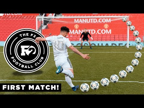 F2FC FIRST EVER MATCH AT OLD TRAFFORD VS TANGO SQUAD FC!
