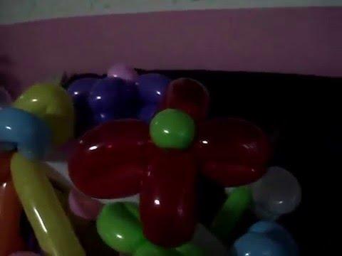My Basket Of Balloon Flowers