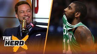 Chris Broussard on why Kyrie needed LeBron to succeed, Carmelo