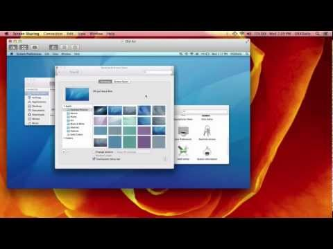 Remote Control a Mac Using Screen Sharing in OS X