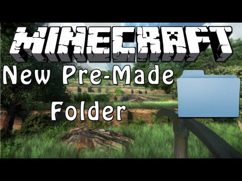Minecraft: How To Use The New Pre-Made Server Folder (Mac) -HD