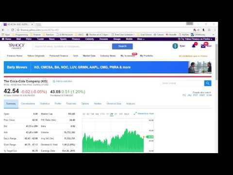 Java Program to Read Stock Quote