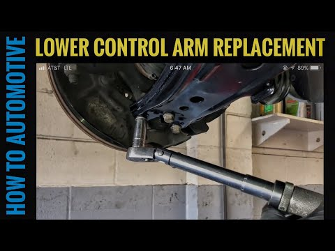 How to Replace the Lower Control Arms on a 1998-2011 New Volkswagen Beetle