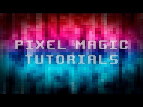 Pixelated Rainbow Wallpaper - Photoshop Tutorial