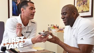Did Magic Johnson quit to avoid blame? | First Take