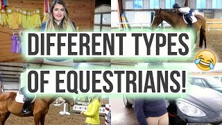 Different Types Of Equestrians  Equestrian Prep