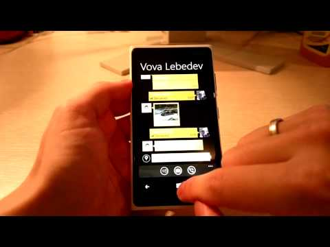 new Viber on WP8 (lumia920) first hands on