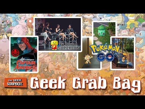 Geek Grab Bag - The Geek Soapbox: Episode 0306