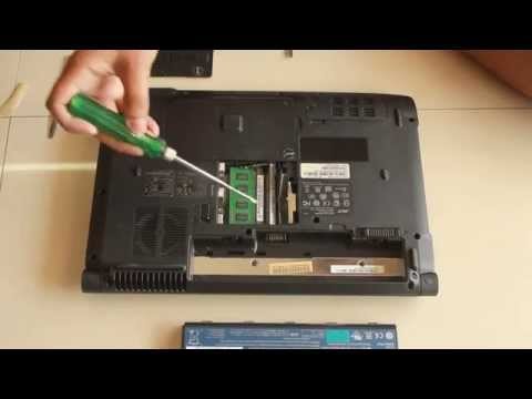 How to Upgrade/Install RAM in Acer Aspire 4736z Laptop in just 2 minutes