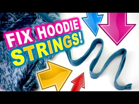 How to Fix a Hoodie String