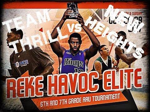 Reke Havoc Elite   Team Thrill vs New Heights   2017