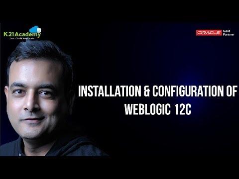 Installation & Configuration of Weblogic 12c