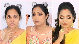Beginners TRY these MAKEUP TRICKS to get FLAWLESS Indian LOOK this NAVRATRI | Shruti Arjun Anand