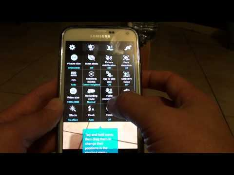 Samsung Galaxy S5: How to Turn Camera Flash Light to On / Off / Auto