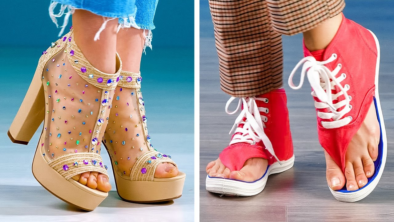 27 TRANSFORMATIONS to create a REALLY cool shoes