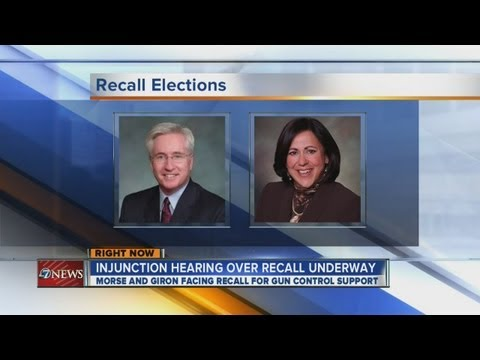 Colorado senators fight recall today