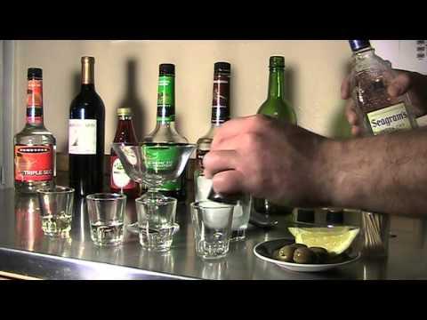 How to Make Martini ( 30 Second Martini )