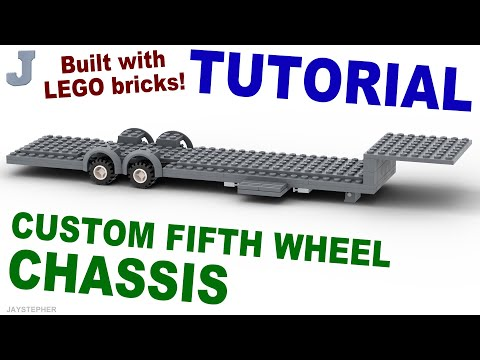 Tutorial - LEGO Fifth Wheel Chassis (1 - 12)