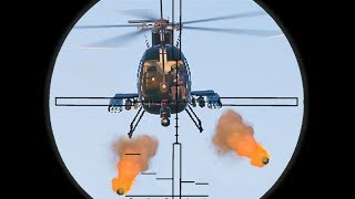 SNIPE THE HELI PILOTS BEFORE YOU DIE! (GTA 5 Funny Moments)