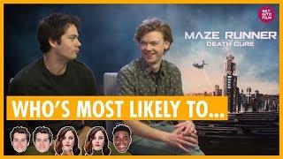 """Maze Runner Cast """"Who"""