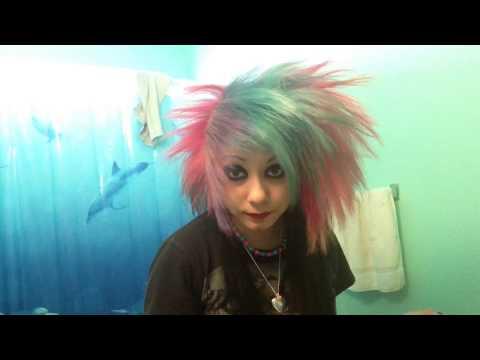 Spiky/Emo/Scene Hair Tutorial :D