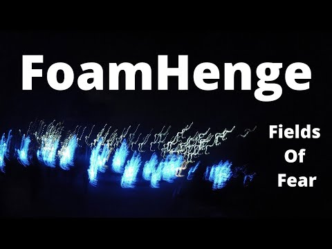 😁   Cox Farms -   FOAMHENGE - Fields of Fear  2017  - (NEW)    ✅