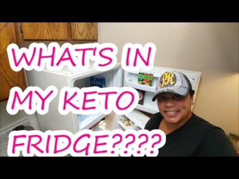 WHAT'S IN MY KETO FRIDGE?