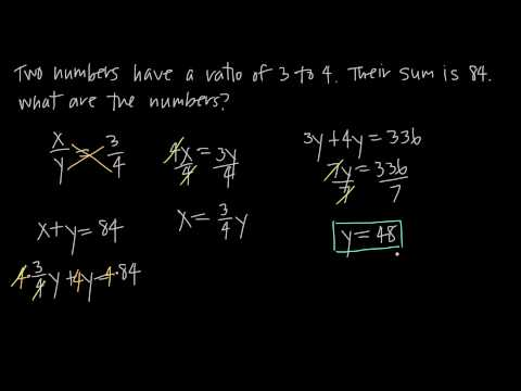 ratio and proportion, word problems (KristaKingMath)