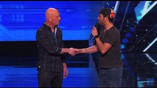 Shocking Audition By Chris Jones, He Makes Howie Hypnotized America