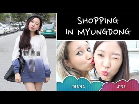 Shopping in Myeongdong + OOTD + HAUL